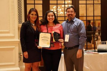 Joanna Farrias - Youth of the Year Award - 2015