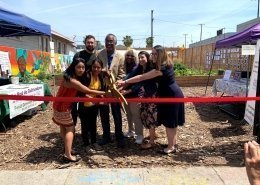 Micro Farm - Ribbon Cutting - All Peoples Community Garden